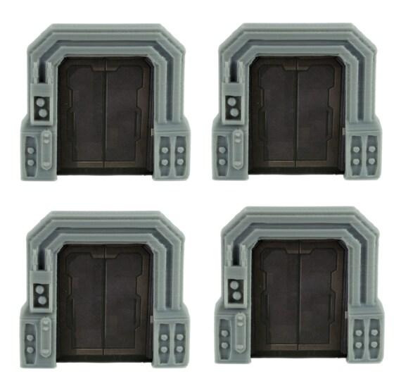 sc 1 st  Etsy & Star Wars Imperial Assault Custom Door Holder Tokens Set of