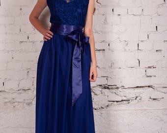 Bridesmaid, Bridesmaids dress, Blue Bridesmaids dress, Maxi Dress, Blue Maxi Dress, Blue Gown, Party dresses, Prom Dress, Blue Prom Dress