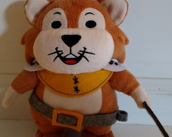 Plush Mousamus stuffed toy - Great for ages 3 and up.  Accompanies the book Mousamus - A Gladiator's Tail by Stefanie Jolicoeur