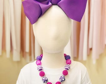 "Chunky Necklace ""Faye-Belle"""