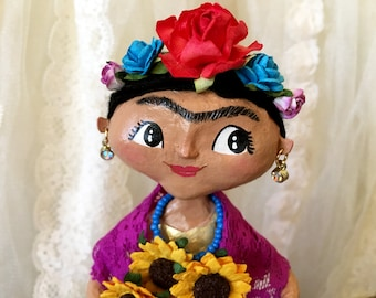 Frida - One of a Kind Art Doll