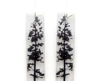 Tall Forest Earrings