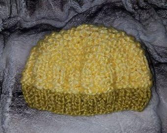 SALE DW010 Frontier Wool Hand Knit Hat