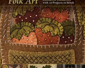 Seasons of Wool Applique Folk Art - By Rebekah L. Smith