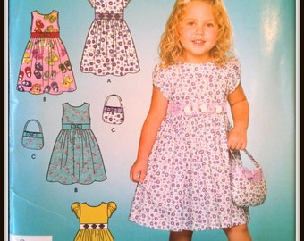 Simplicity  3857  Size  (3-8)  Uncut  And  FF
