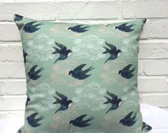 Little swallows cushion