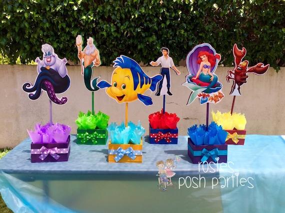 Little Mermaid Prince Eric King Triton Sebastian Flounder