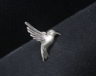 Sterling silver Hummingbird Tie Tac