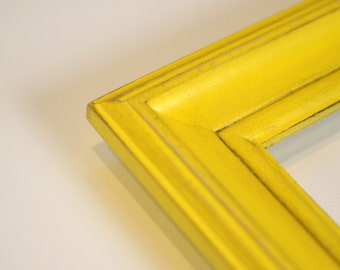 """Vintage Color of Your Choice in Scully Style - Choose your small frame size - 3x3, 3.5x5, 4x4, 4x6, 5x5, 5x7, 6x6, up to 7x7"""""""