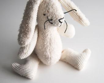 Eco Organic Natural Bunny Rabbit Easter Doll Stuffed Animal Toy
