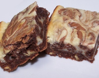 Cream Cheese Swirled Brownies ( 16 )