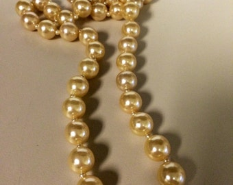 Costume Antique Pearl Necklace