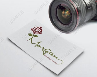 Photography Boutique logo, business logo and watermark, Photographer logo, Camera logo,  pre-made logo design
