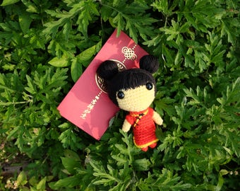 Finished Doll: Xiao Yu (小宇) (only 1 available)