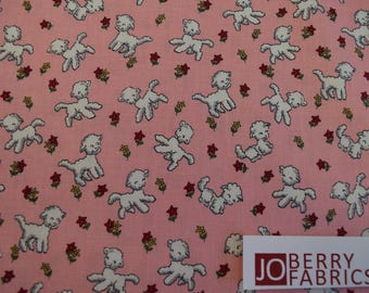 Tiny Lambs from the Toy Chest Collection by Penny Rose Fabrics.  Quilt or Craft Fabric, Fabric by the Yard