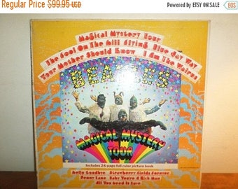 Save 30% Today Vintage 1967 LP Record The Beatles Magical Mystery Tour Stereo Excellent Condition 12310