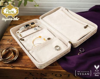 Vegan Jewelry Travel Case