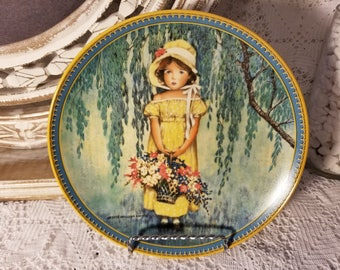 Jesse Wilcox Smith Easter collector plate