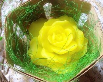 Handmade Rose Flower Soap, Friendship Gift, Best Friend Gift Ideas For Girls, Daisy Flower Arrangement, Daisy Soap