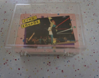 Cyndi Lauper trading cards full set plus extras