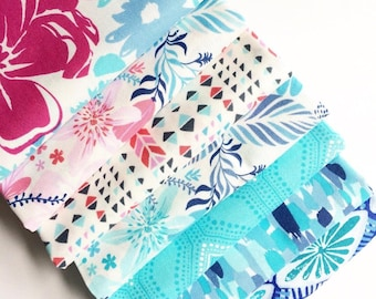 Kate Spain Mash Up Fat Quarter Bundle, Paradiso and Horizon, Curated in house, Limited Quantities