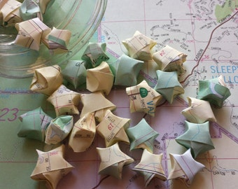 20 Handcut Atlas Lucky Stars