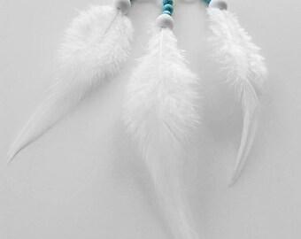 Mini car dream catcher white dreamcatcher crochet doily dream catcher white feathers boho dreamcatchers wedding decor for gift wrapping