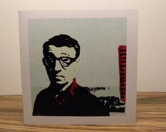 Woody Allen - double card - lincut