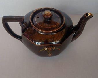 Vintage, Teapot, Small teapot, Moriage