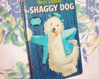 The Shaggy Dog, A Golden Reading Adventure Book, 1959