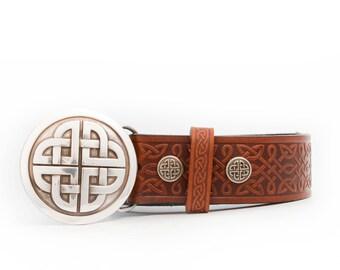 Daman Celtic Knot Belt & Buckle
