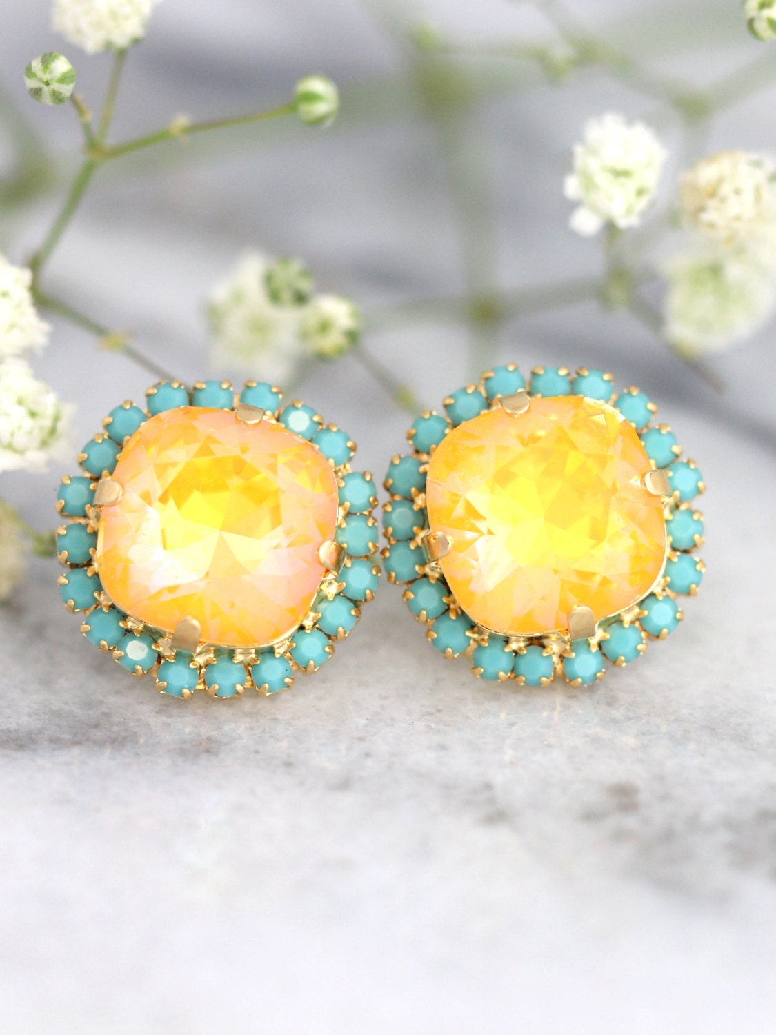 jewelry diamond gold bianca products canary diamonds earrings yellow pratt with shell