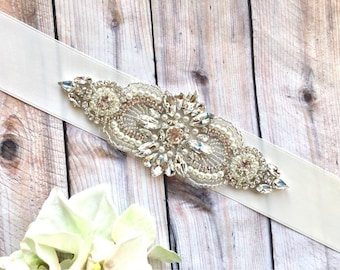 Bridal sash, beidesmaid sashes, wedding sashes and belts, pearl bridal belt, ivory wedding sash