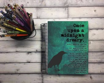 Laminated Planner Covers and Dashboards - The Raven