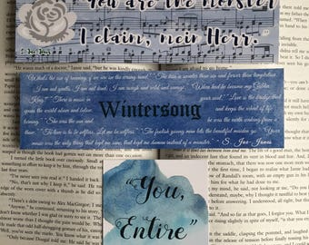 Wintersong Bookmarks