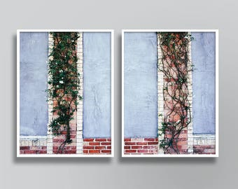 modern rustic art, muted colors art,  set art prints, Minimalist, wall art set, architecture prints, architecture wall art, Window Poster