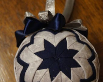 Handmade snowflake ornament