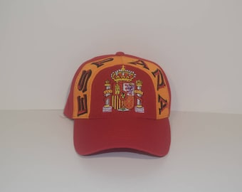 Vintage Espana Spanish Spain Dad Hat Velcro Back