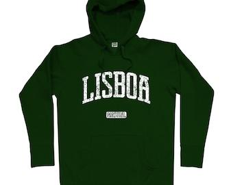 Lisbon Portugal Hoodie - Men S M L XL 2x 3x - Lisbon Hoody, Sweatshirt, Lisboa, Portuguese - 4 Colors