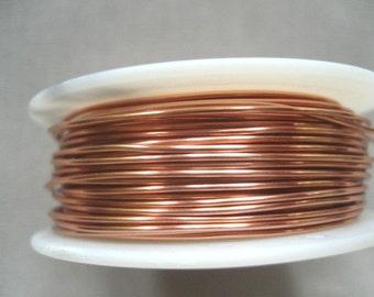 WIRE 45 ft -- 26 gauge Non Tarnish Copper Viking Knit Crochet Wire