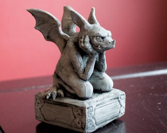 Desktop Gargoyle: 3D Printed, Hand-Painted