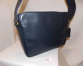 Coach NEW! 'Promenade' Bag #C4C-4135~Navy Blue ~Brass~Never Been Used~RARE!
