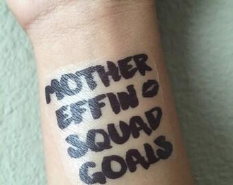 10 Squad Goals Tattoos - Custom