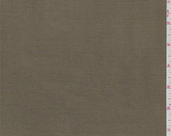 Golden Brown Linen, Fabric By The Yard