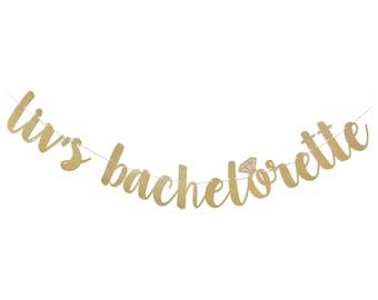 Bachelorette Banner | Bachelorette Party Decorations | Bachelorette Party Banner | Custom Bachelorette Banner | Bachelorette Sign | Ring