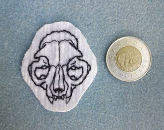 Cat Skull Patch (front)