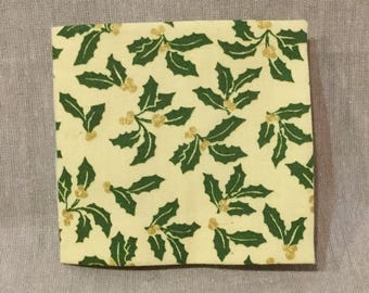 Holly Fabric Book, Small 1