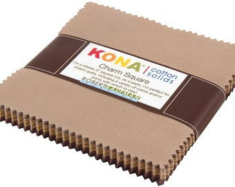 KONA CHARM SQUARE: Sediment-42 pieces
