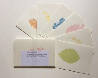 Plant based ink Silkscreen sample set