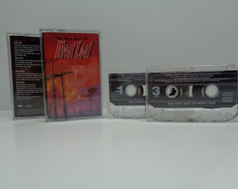 The Very Best of Meatloaf Cassette 2 Tapes